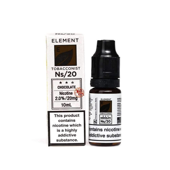 Chocolate Tobacco E-Liquid by NS20 Element