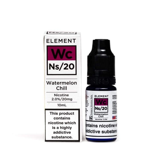 NS20 Element Watermelon Chill E-Liquid