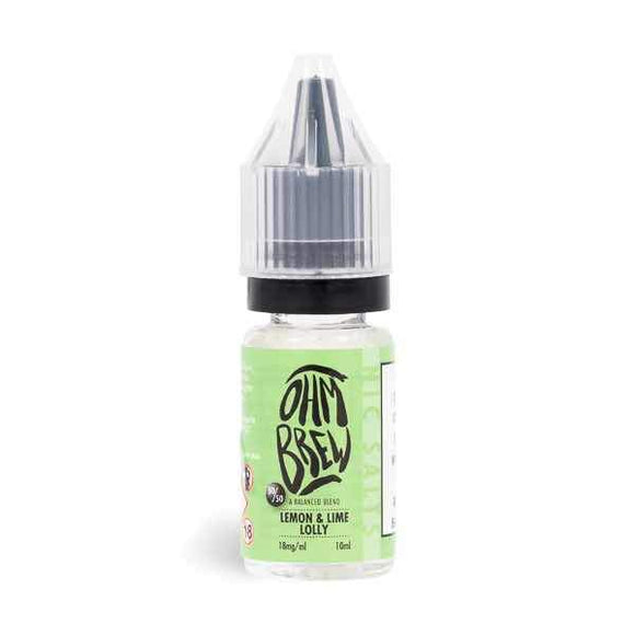 Ohm Brew Lemon and Lime Lolly Nic Salt E Liquid