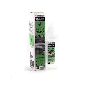 Pacha Mama – The Mint Leaf, Honey Dew and Berry Kiwi 50ml Shortfill E-Liquid