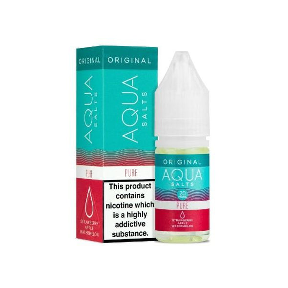 Pure Nic Salt E-Liquid by Aqua