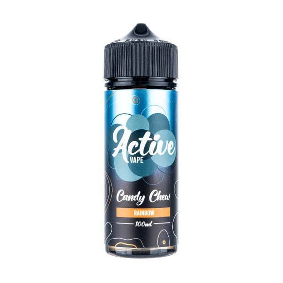 Rainbow Chew 100ml Shortfill E-Liquid by Active Vapes