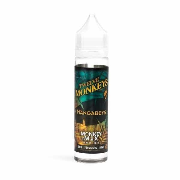 Mangabeys 50ml Short Fill by Twelve Monkeys