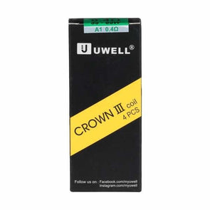 Uwell Crown 3 Sub-Ohm Tank Replacement Coils - Pack of 4