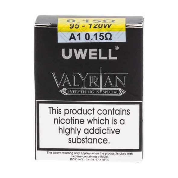 Uwell Valyrian Replacement Coils 0.15Ohms - Pack of 2