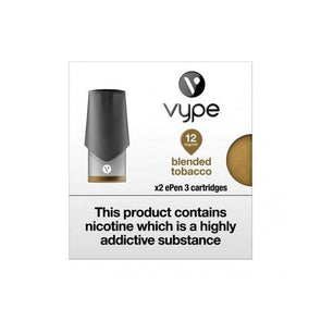 Vype ePen 3 Blended Tobacco Pods - 2Pk