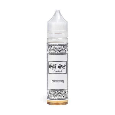Wick Liquor Carnival Big Block 50ml Short Fill E-Liquid