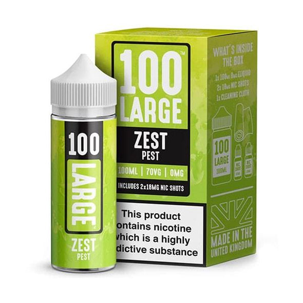 Zest Pest 100ml Short Fill E-Liquid by 100 Large