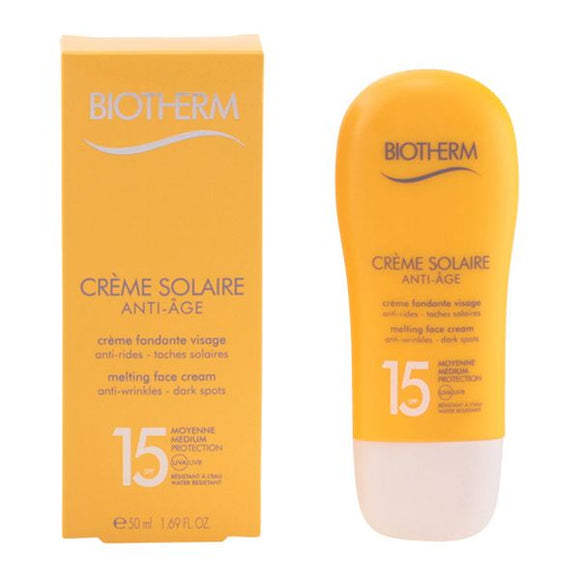 Solcreme Sun Face Biotherm Spf 15 (50 ml)