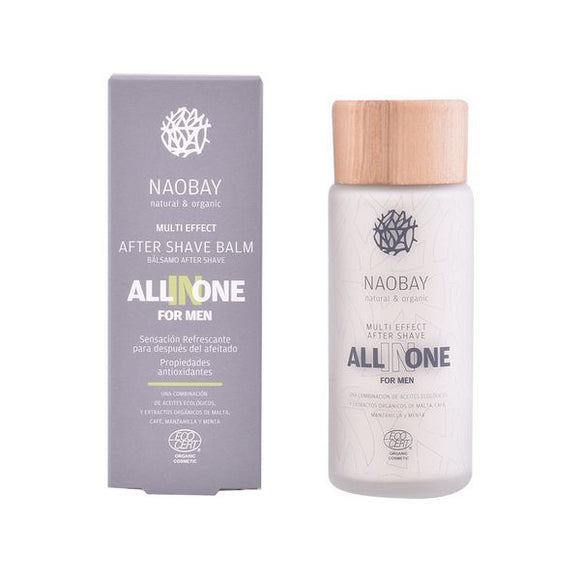 Aftershave Balsam All In One Naobay (100 ml)