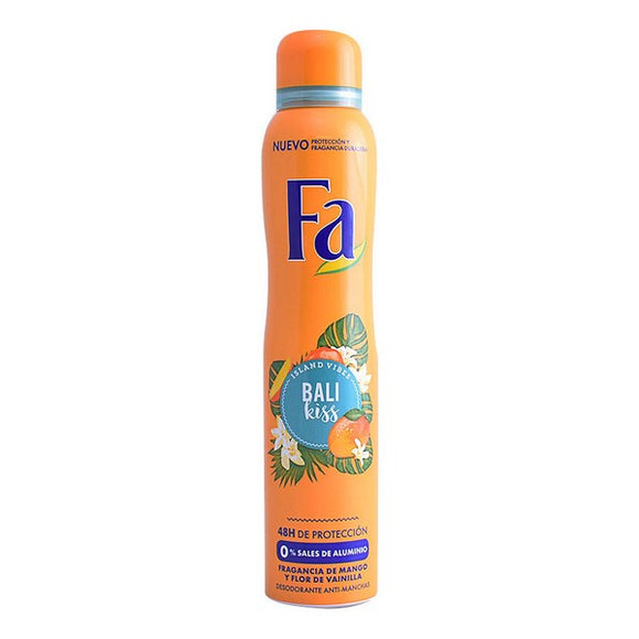 Spray Deodorant Bali Kiss Fa (200 ml)