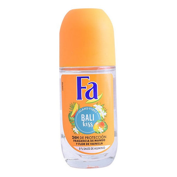 Roll on deodorant Bali Kiss Fa (50 ml)