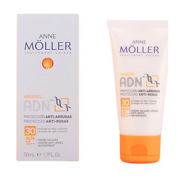 Anti-rynke creme Aquasol Adn Anne Möller Spf 30 (50 ml)