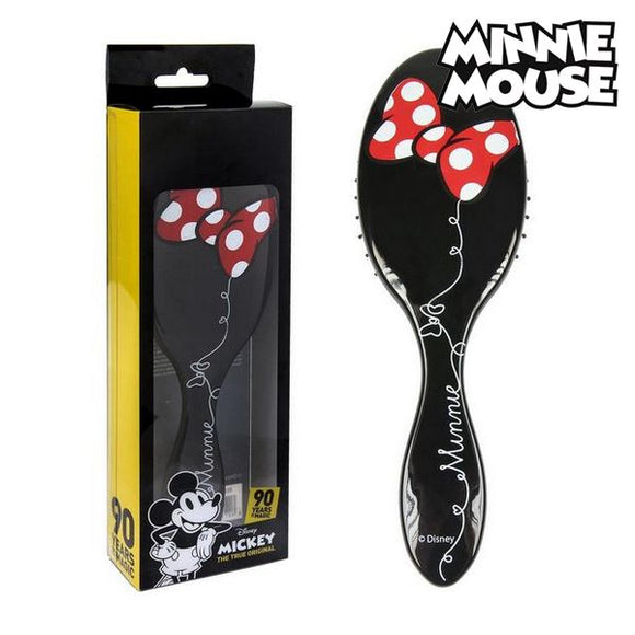 Børste Minnie Mouse 75285 Sort