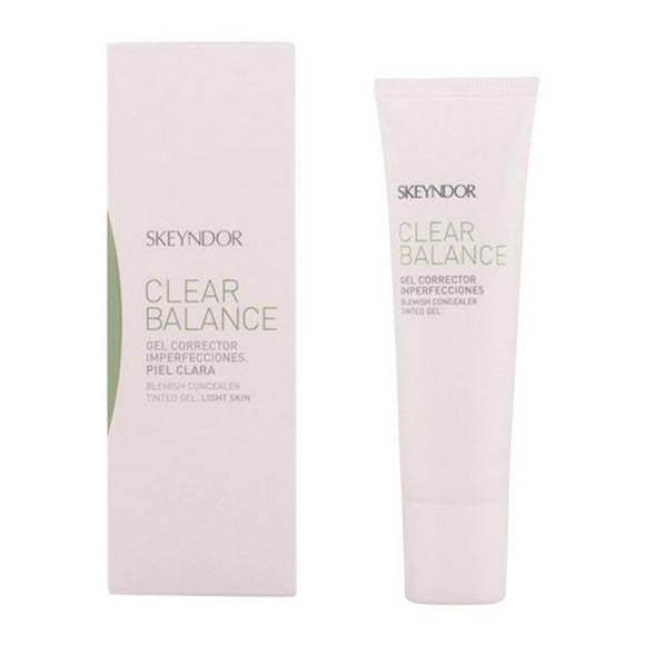 Dækcreme til Ansigtet Clear Balance Light Skin Skeyndor (30 ml)