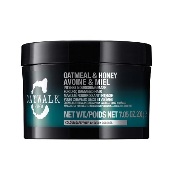 Nærende hårmaske Catwalk Oatmeal & Honey Tigi (200 ml)