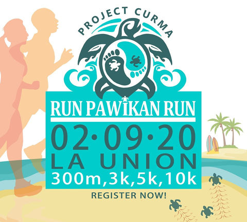 EcoNest Philippines partners with Project Curma in its Run Pawikan Run in La Union to save the turtle hatchlings