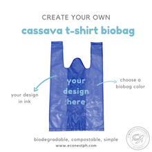 Load image into Gallery viewer, CUSTOM CASSAVA T-SHIRT BAG