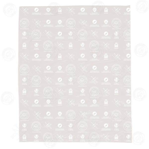 Cassabag Mailer Large with EcoNest Monogram Print (No Adhesive)