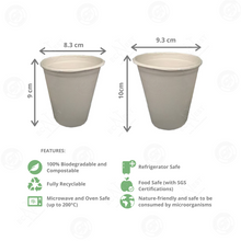 Load image into Gallery viewer, Sugarcane Bagasse Cup with Lid