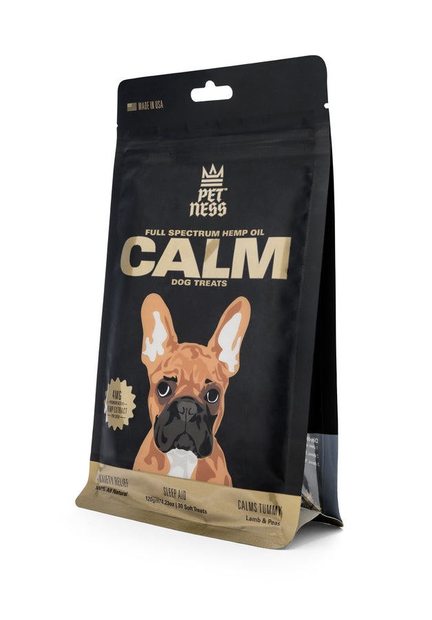 PETNESS CBD PET TREATS BROAD SPECTRUM HEMP OIL CALM