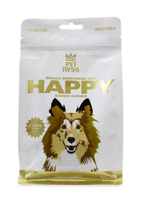 PETNESS CBD PET TREATS BROAD SPECTRUM HEMP OIL HAPPY