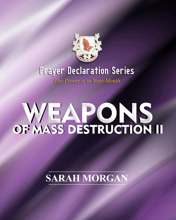 Prayer Declaration Series: Weapons of Mass Destruction II