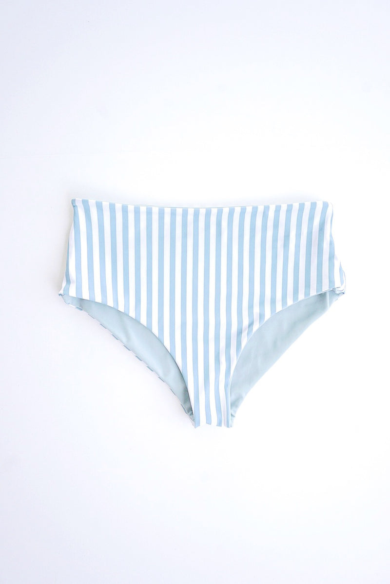 Porter Blue Striped Reversible Bottom