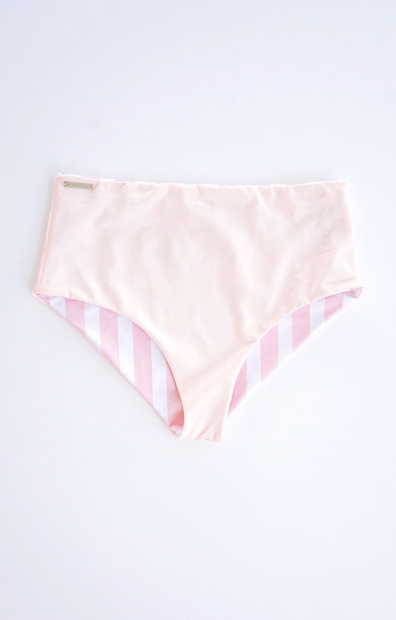 Porter Pink Striped Reversible Bottom