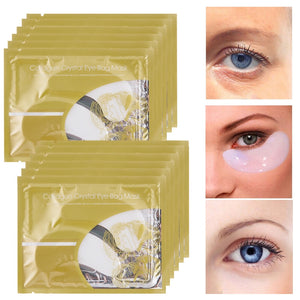 15 Pair Crystal Anti-Wrinkle Collagen Eye Mask