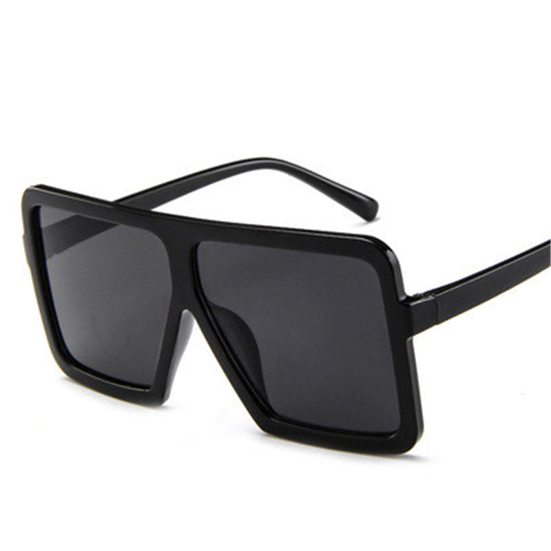 Luxury Retro Large Frame Sunglasses UV400