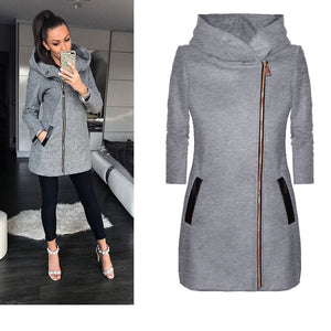 Thick Winter Zip Up Coat