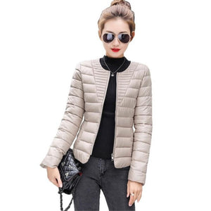 Ultra Light Winter Jacket Overcoat