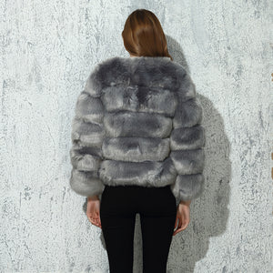 CP Faux Fur Coat
