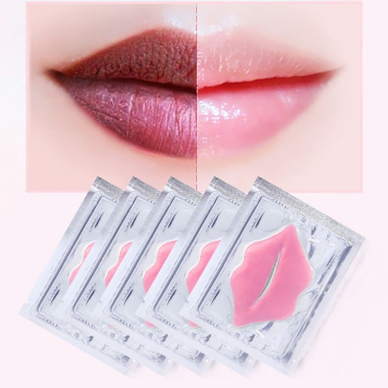 5Pcs Beauty Collagen Lip Mask