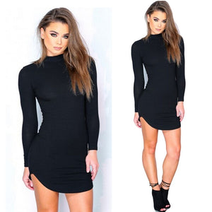 Long Sleeve T-Shirt Dress