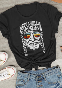 Have a Willie Nice Day Character T-Shirt