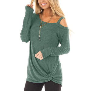 Casual Loose Long Sleeved T-shirt