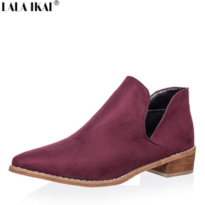 Chelsea V Shaped Ankle Boots
