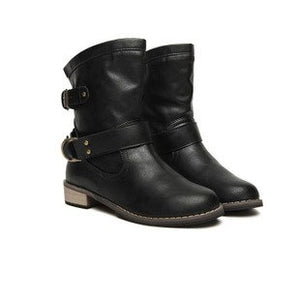 Motorcycle Style Boots Dongkuan classic