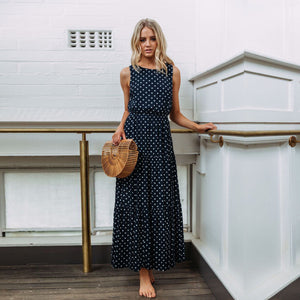 Polka Dot Beach Dress