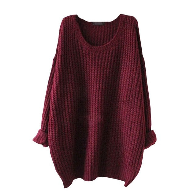 Knitted Winter Pullover