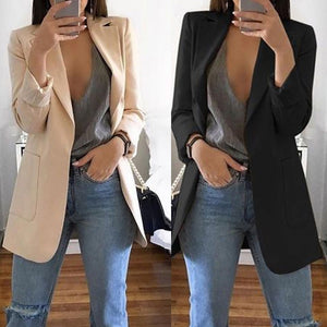 Casual Blazer Long Sleeve Jacket