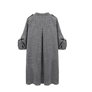 Long Cloak Jackets Overcoat