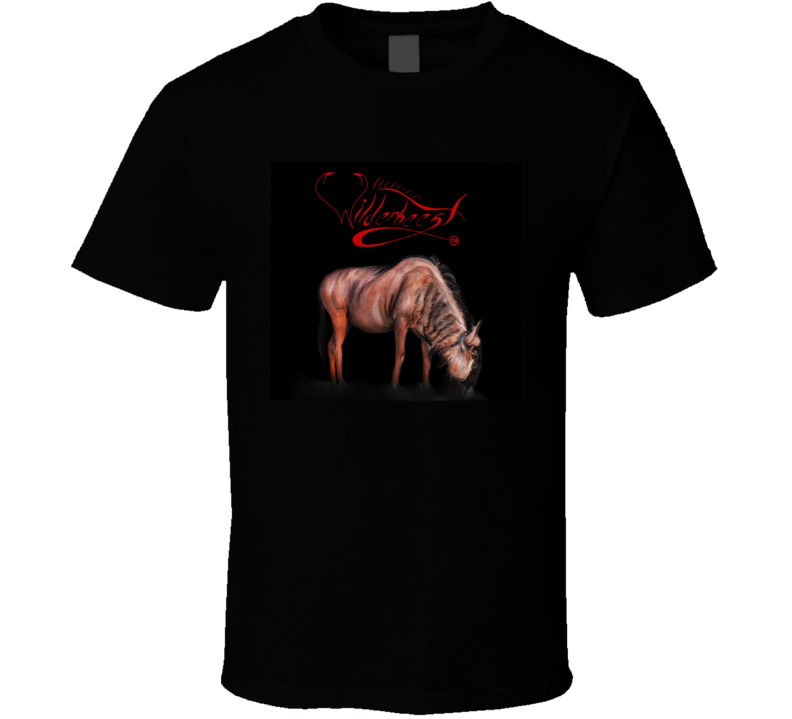 Wilderbeest 3d Logo T Shirt - WilderBeestGnu