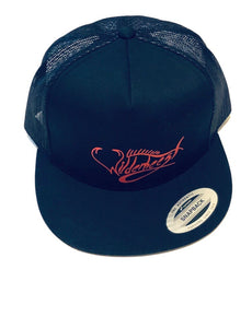 Black Wilderbeest SnapBack Trucker Hat - WilderBeestGnu