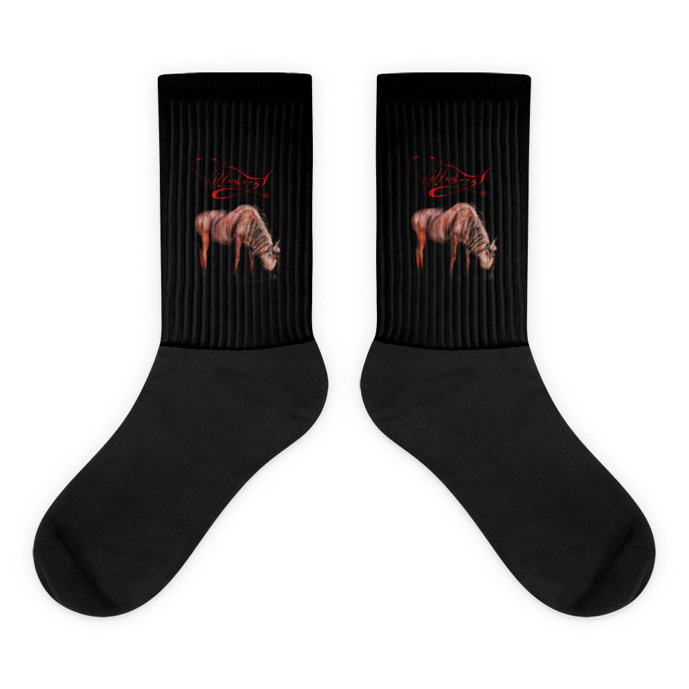 3D Wilderbeest Logo Socks - WilderBeestGnu