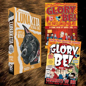Lunakita: A Dog Log (Paperback Edition) & Glory Be! Books 1 and 2