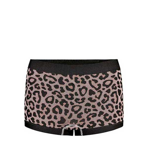 THE NEW PURE PURE CHEETAH HIPSTERS W UNDERWEAR ADOBE ROSE