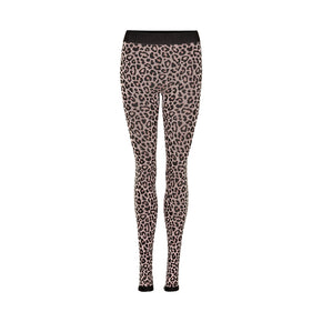 THE NEW PURE PURE CHEETAH LEGGINGS W LEGGINGS ADOBE ROSE